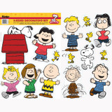 Peanuts¨ Classic Characters 2-Sided Deco Kit