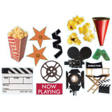Movie Theme Two Sided Deco Kit