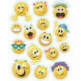 """Emoticons Window Clings, 12"""" x 17"""""""