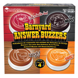 Barnyard Answer Buzzers, Pack of 4