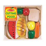 Cutting Wooden Play Food, 27 Pieces