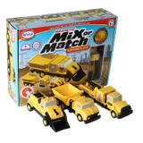 Magnetic Mix or Match¨ Construction Vehicles