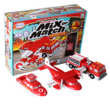 Magnetic Mix or Match¨ Vehicles, Fire & Rescue