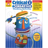 Critical and Creative Thinking Activities Book, Grade 6+