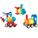 1-2-3 Build It - Train/Rocket/Helicopter