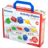 Activity Shapes, Giant Beads and Laces Set