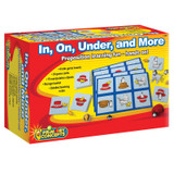 Primary Conceptª In, On, Under, and More, Preposition Game