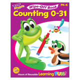 Counting 0-31 Wipe-Off¨ Book, 28 pgs