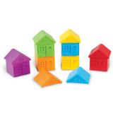 All About Me Sort & Match Houses, Set of 6