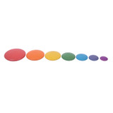 Rainbow Buttons, Set of 7