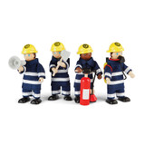 Firefighters Set of 4