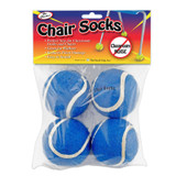 The Pencil Grip Chair Socks, Blue - Pack of 144