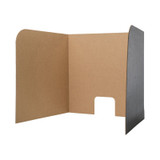 """Computer Lab Privacy Screen, Large, 26"""" x 23"""" x 22"""", Pack of 12"""