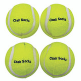 Chair Socks, Yellow, Pack of 144