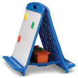 Copernicus Tabletop Easel with Dry Erase Boards, Pocket Chart, and Storage Tubs