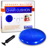 Sensory Builder¨ Active Attention Chair Cushion, Blue