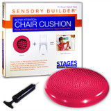 Sensory Builder¨ Active Attention Chair Cushion, Red