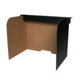 """Large Desktop Privacy Screen, 22"""" x 18"""" x 16"""", Pack of 24"""