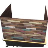 Reclaimed Wood Privacy Screen