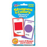 Shapes & Colors Memory Match Challenge Cards¨