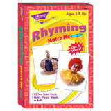 Rhyming Words Match Me¨ Cards