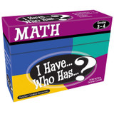 I Have, Who Has Math Game, Grade 3-4