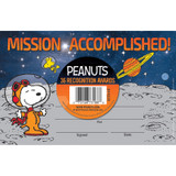 Peanuts¨ NASA Recognition Awards, Pack of 36