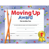 """Moving Up Award Certificate, 8.5"""" x 11"""", Pack of 30"""