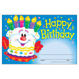 Happy Birthday Cake Recognition Awards, 30 ct