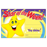 Star of the Week! Recognition Awards, 30 ct