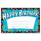 Color Harmony Birthday Recognition Awards, 30 Count