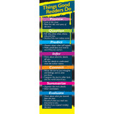 Things Good Readers Do Bookmarks, Grade 3-8, Pack of 30