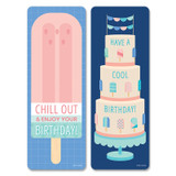 Calm & Cool Happy Birthday Bookmarks 30/Pack