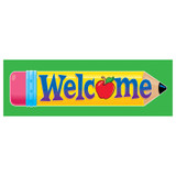 Welcome Pencil Bookmarks, 36 ct