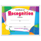 Certificate of Recognition Colorful Classics Cert's., 30 ct