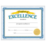 Certificate of Excellence Classic Certificates, 30 ct