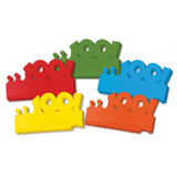 """100 Days of School Paper Crowns, 4.5"""" x 24.75"""", 25 Pieces"""