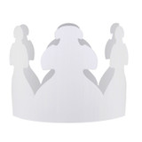 White Crowns, Pack of 24