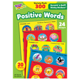 Positive Words Stinky Stickers¨ Variety Pack, 300 ct