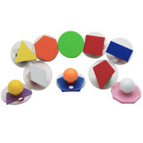 Giant Stampers, Geometric Shapes, Filled In, Set of 10