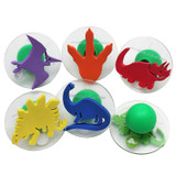 Giant Stampers, Dinosaurs, Set of 6