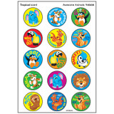 Awesome Animals/Tropical Stinky Stickers¨, 60 ct.