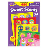 Sweet Scents Stinky Stickers¨ Variety Pack, 480 ct