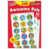 Awesome Pals Stinky Stickers¨ Value Pack, 240 ct.
