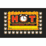 Incentive Punch Cards, H.O.T. - Homework on Time