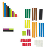 Magnetic Cuisenaire¨ Rods, Pack of 64