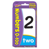 Numbers 0-100 Pocket Flash Cards