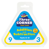 Addition and Subtraction Three-Corner¨ Flash Cards