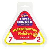 Multiplication and Division Three-Corner¨ Flash Cards