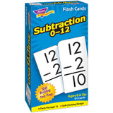 Subtraction 0-12 Skill Drill Flash Cards